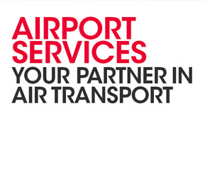 AIRPORT SERVICES. Your partner in air transport