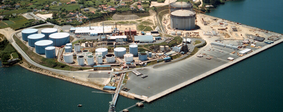 Mugardos LNG Storage Tanks