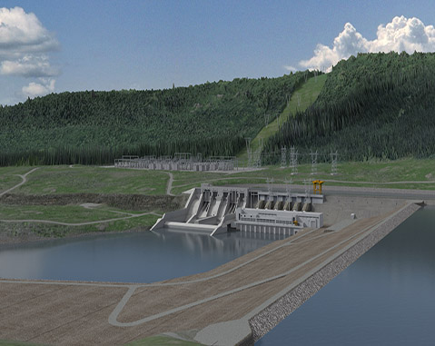 ACCIONA PREQUALIFIED TO BID FOR GENERATING STATION AT SITE C HYDROELECTRIC DAM IN BRITISH COLUMBIA
