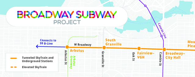 ACCIONA SIGNS THE CONTRACT TO BUILD THE VANCOUVER BROADWAY SUBWAY PROJECT