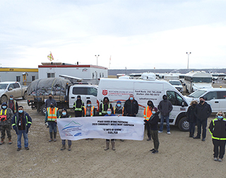 "ACCIONA, as part of Peace River Hydro Partners, completes the ""12 days of giving"" campaign"